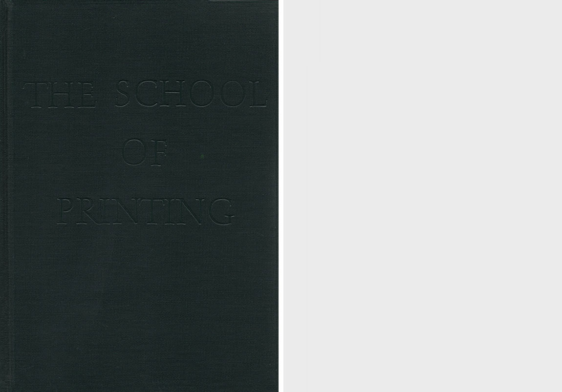"""""""School of Printing: Rochester Institute of Technology, the First Half-Century, 1937–1987"""" by Alexander S. Lawson"""